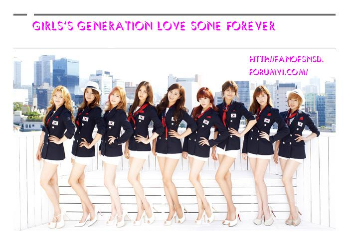 Fan of SNSD
