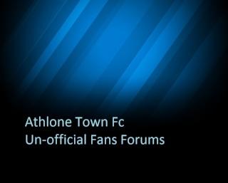 Athlone Town Fc Fans Forum