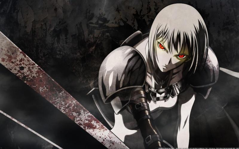 Half-Demon Nasada and Single Characters Synne10