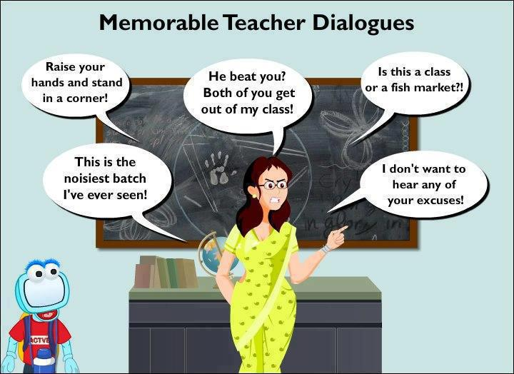 >> Memorable Teacher Dialogues << A_165