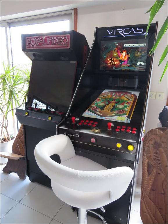 [WIP] Fusion d'une Borne d'arcade et d'un pincab Pincab10