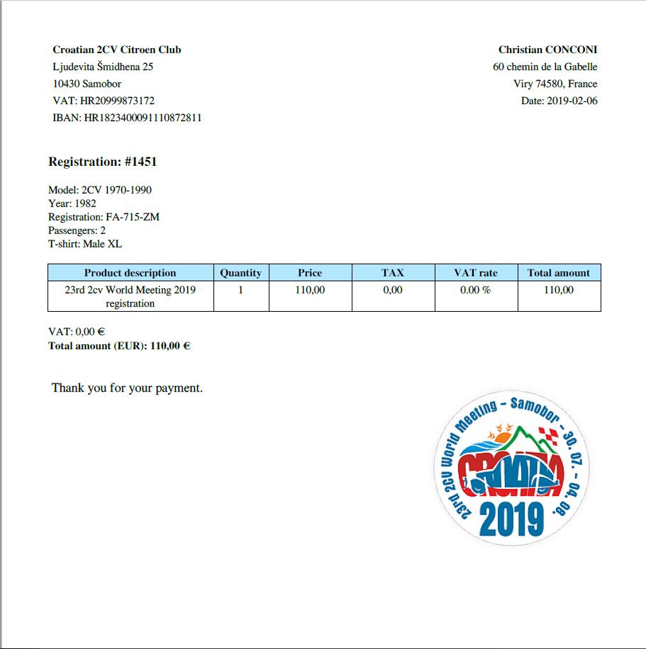 Mondiale en Croatie à Samobor -  - du 30.7 au 04.8.2019 - Page 7 Captur12
