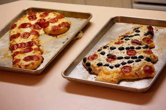 Decorazioni di Natale: le vostre Pizza10