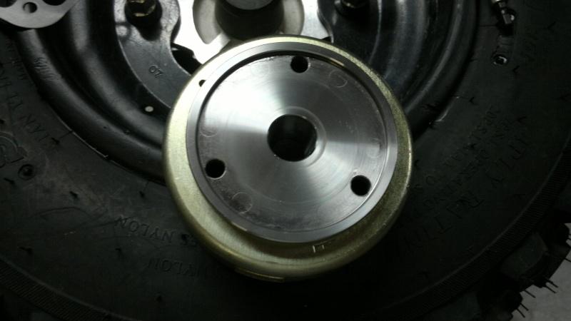 remplacement roue libre de demarrage triton baja 300 1023