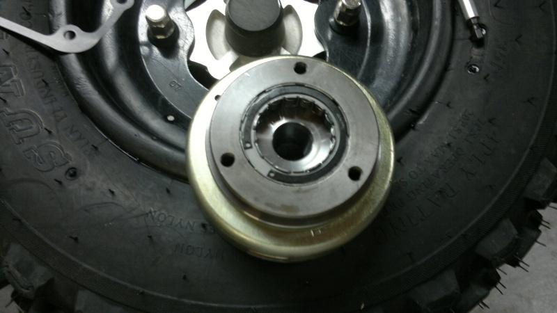 remplacement roue libre de demarrage triton baja 300 1220