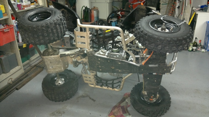 remplacement roue libre de demarrage triton baja 300 130