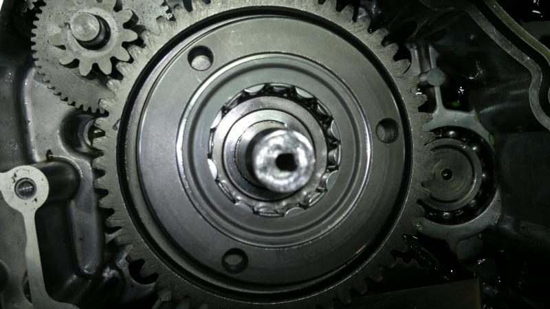 remplacement roue libre de demarrage triton baja 300 1320