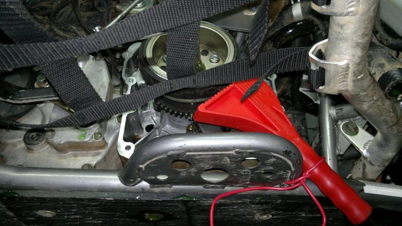 remplacement roue libre de demarrage triton baja 300 430