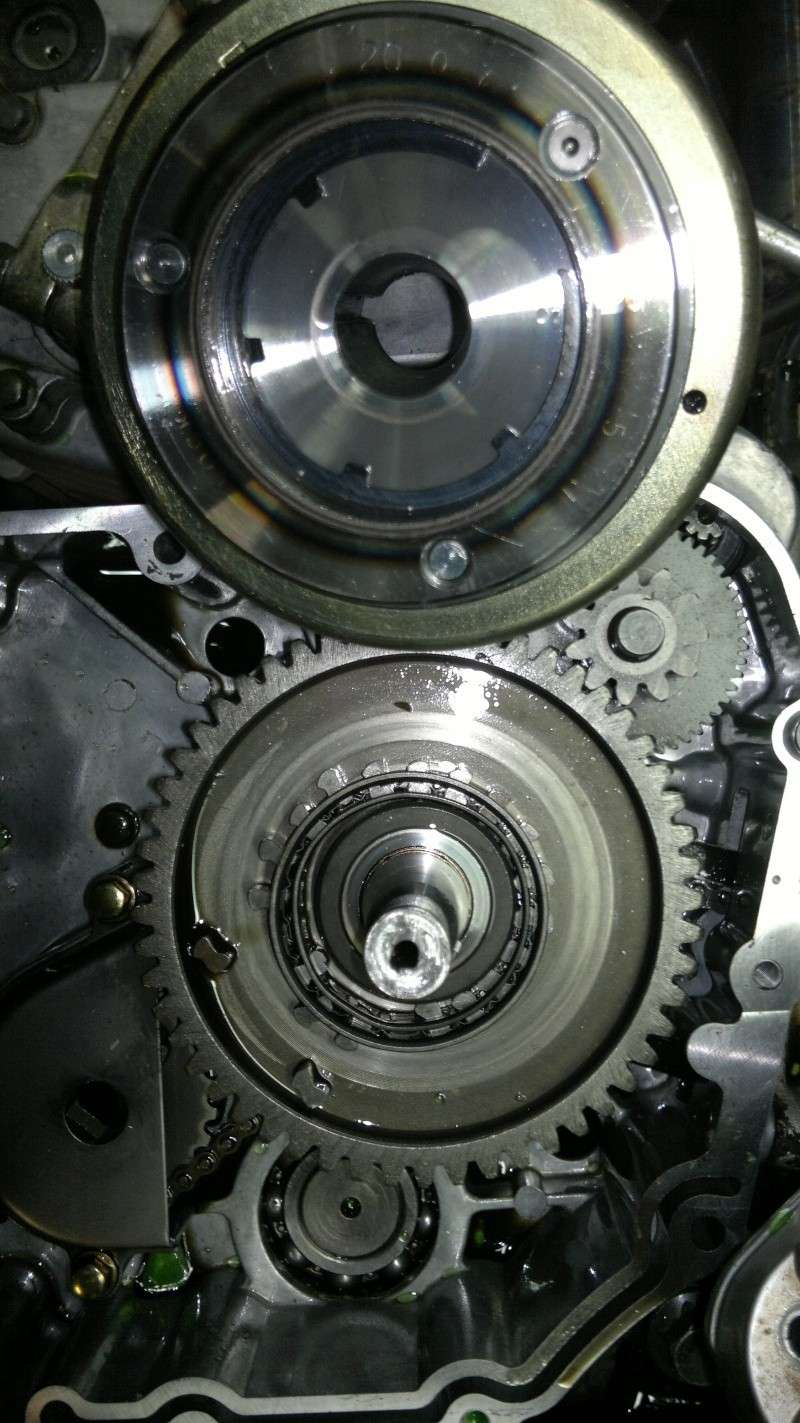 remplacement roue libre de demarrage triton baja 300 527