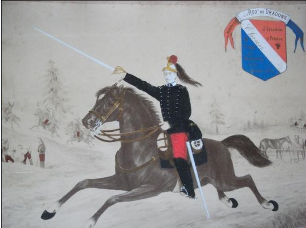 Histoire d'escarmouches de la 9eme Div. Cavalarie. : général de l'Espéee en 1914 Isisor10