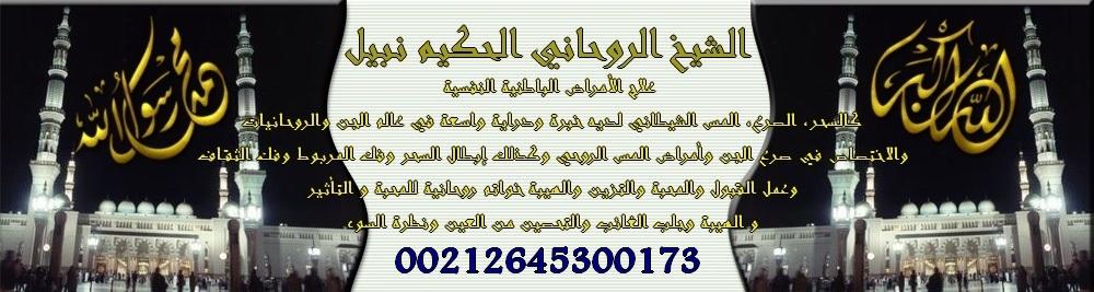 الشيخ الروحاني الحكيم نبيل 00212645300173