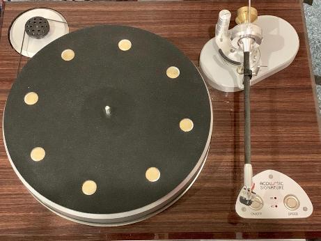 Acoustic Signature Triple X turntable (used) Img-2019
