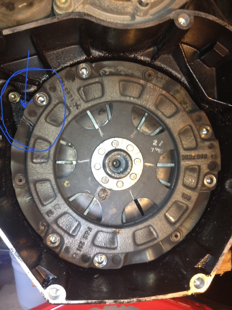 K100RS Clutch Plate Removal Noobie Questions Clutch10