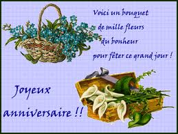 Bon Anniversaire A Bona Fide Et Gaelle