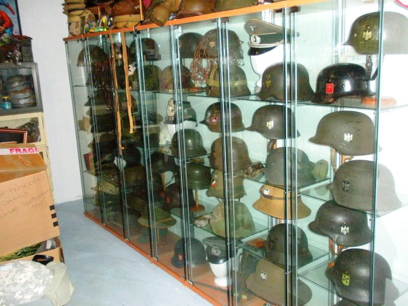 How to display hats and helmets Hallow10