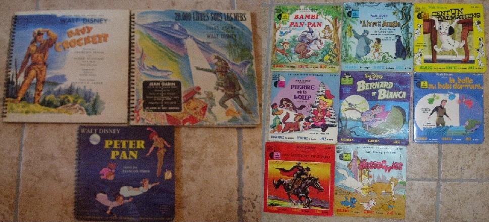 [disneyland-record] les livres disques de walt disney productions Disney12