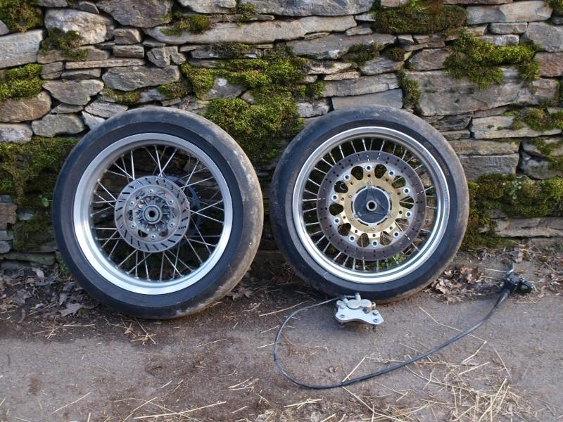 Vend pièces moto husaberg 501 Fe (fourche, roues, amorti...) P3053925