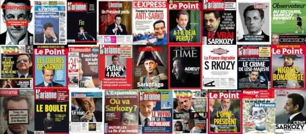 RÉVÉLATION : Pourquoi les journalistes ont installé HOLLANDE à l'Elysée Sarko_10
