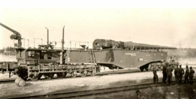Research documentation 280 mm K5 (E) Leopold Germaon Railroad Gun. K5-510