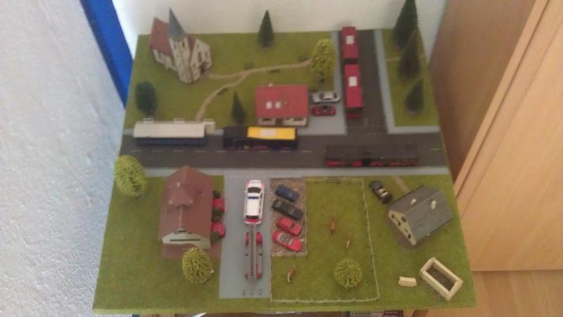 Kleine Stadt mit Feuerwache Planspiel für die Feuerwehr Imag0014