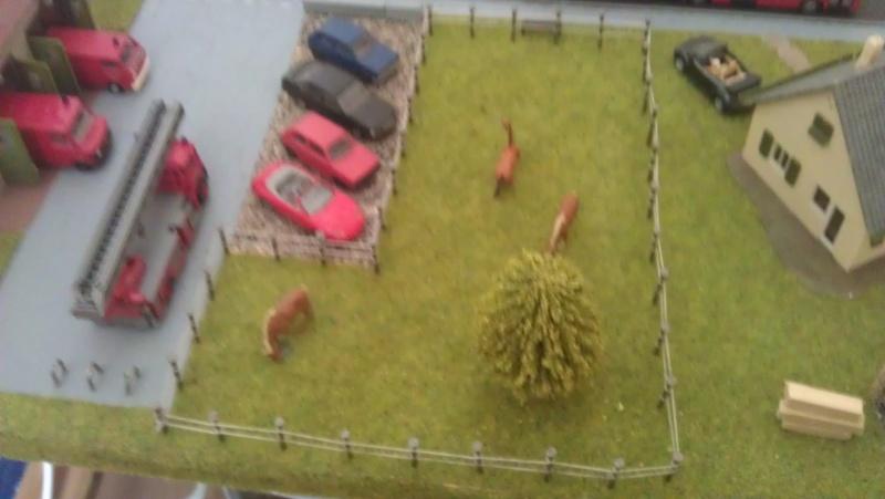 Kleine Stadt mit Feuerwache Planspiel für die Feuerwehr Imag0017