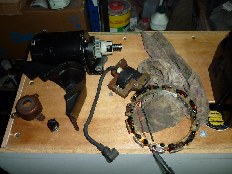 Renovation d'un brigg et stratton 11 hp P1020618
