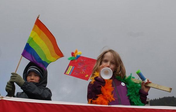 В Норвегии прошел детский гей-парад 107010