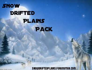 Snow Drifted Plains Pack