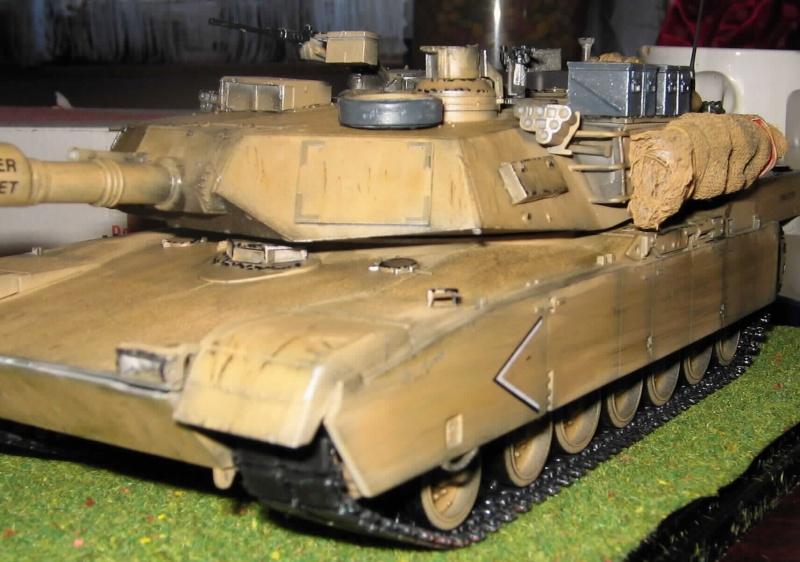 Panzer Leopard A1 und Abrams M1 811