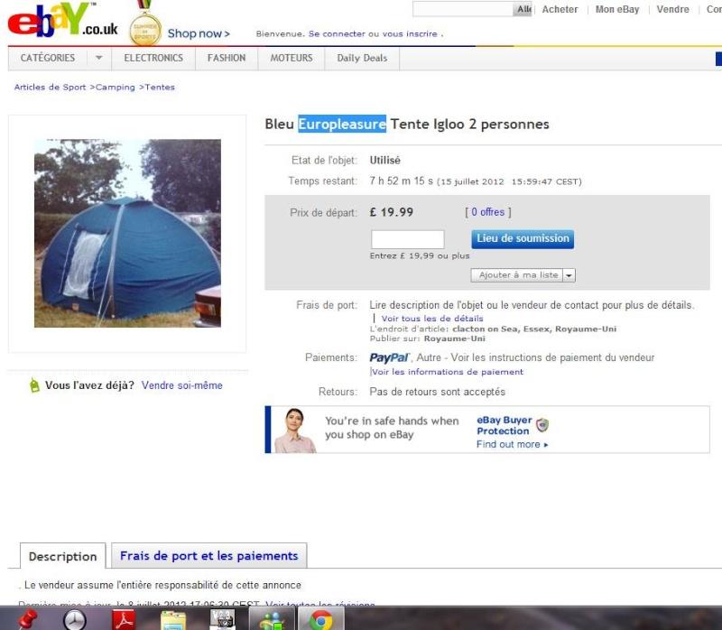 photo tente karsten et remorque de camping Igloo010