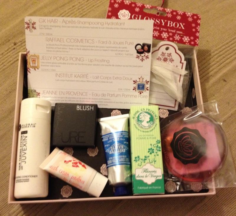 "[Novembre 2012] Glossybox ""Wish List""  Photo710"
