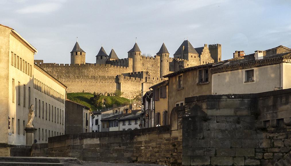 Coucher de soleil sur Carcassonne Couche10