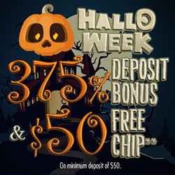 $75 No Deposit Bonus at Hallmark Casino