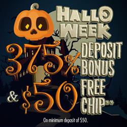 Hallo Week 75 Free No Deposit Bonus 375 50 Free Welcome