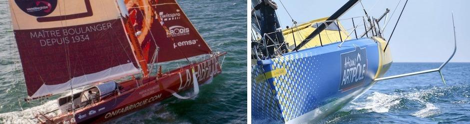 Le Vendée Globe 2020 : les bateaux, la course réelle Captur40