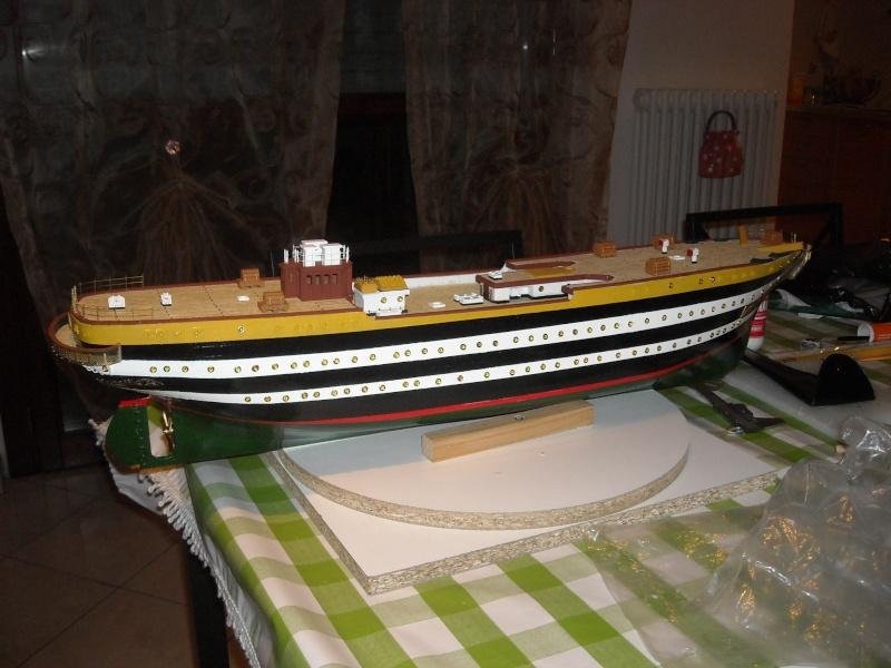 Il mio primo cantiere navale, Amerigo Vespucci, scala 1/100 DeA - Pagina 2 Dscn3810