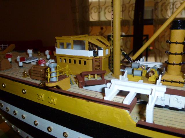 Il mio primo cantiere navale, Amerigo Vespucci, scala 1/100 DeA - Pagina 3 P1010019