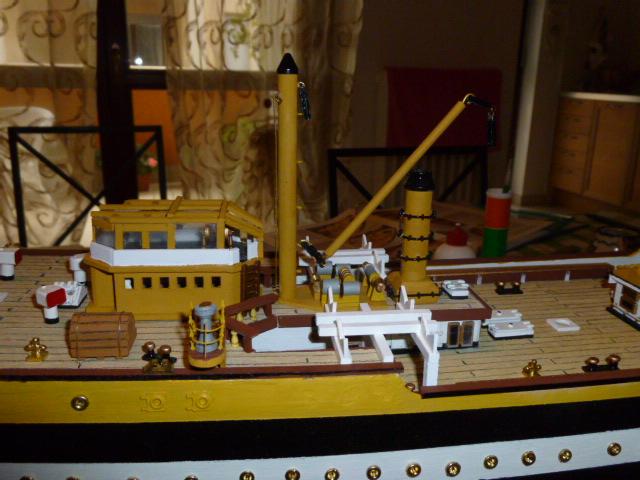 Il mio primo cantiere navale, Amerigo Vespucci, scala 1/100 DeA - Pagina 3 P1010020