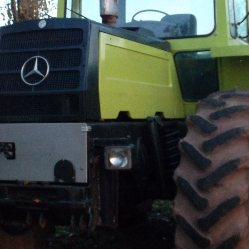 mb trac 1300 Treuil14