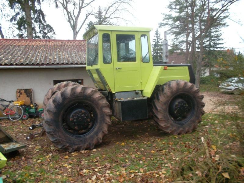 mb trac 1300 Treuil30