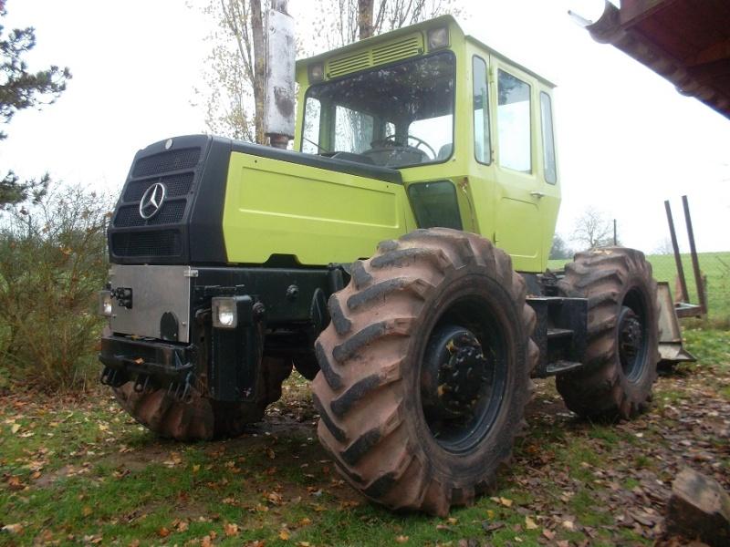mb trac 1300 Treuil31
