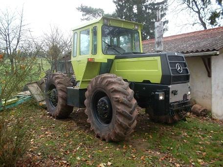 mb trac 1300 Treuil32