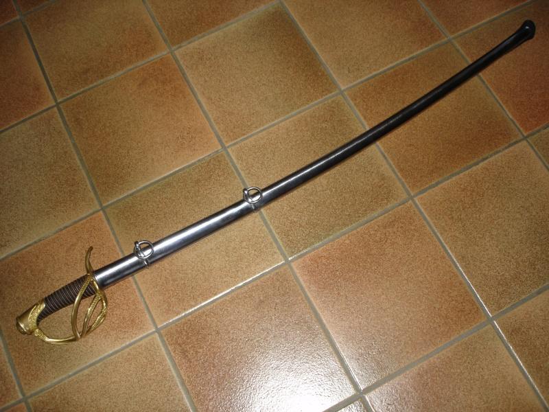 """Collection : sabre d'officier de cavalerie 1822 """"Bancal"""" Dsc03915"""