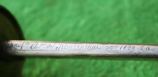 """Collection : sabre d'officier de cavalerie 1822 """"Bancal"""" Sa10"""
