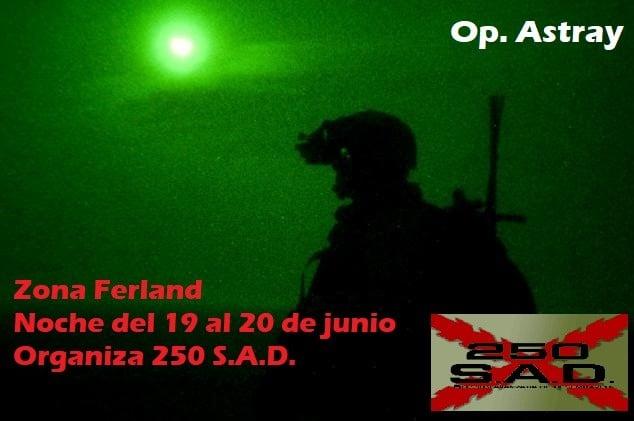 Op. Astray. 19-20 Junio invitación 250SAD  19798210