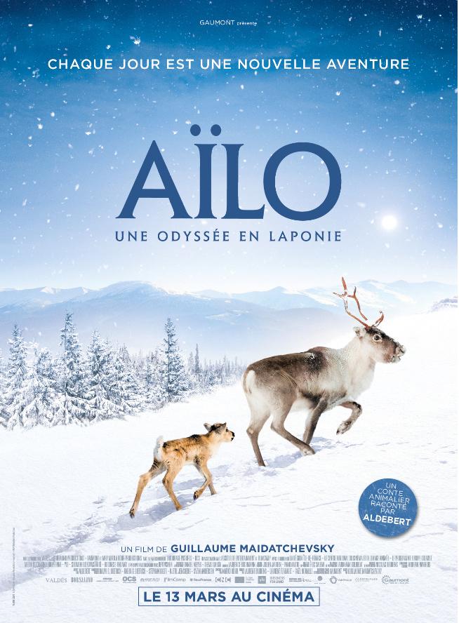 Aïlo, une Odysée en Laponie Affich10
