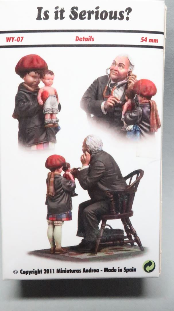 """Ist es sehr ernst?"", 54mm Andrea Miniatures Img_7623"