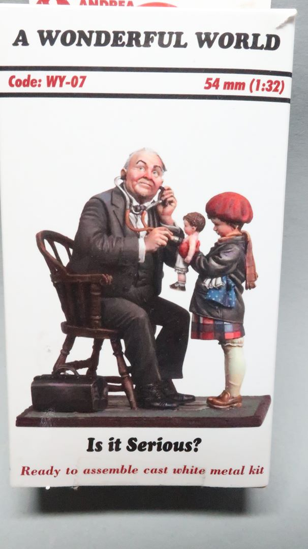 """Ist es sehr ernst?"", 54mm Andrea Miniatures Img_7624"