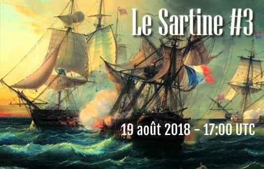 LE SARTINE #3 sur LS Lesart10