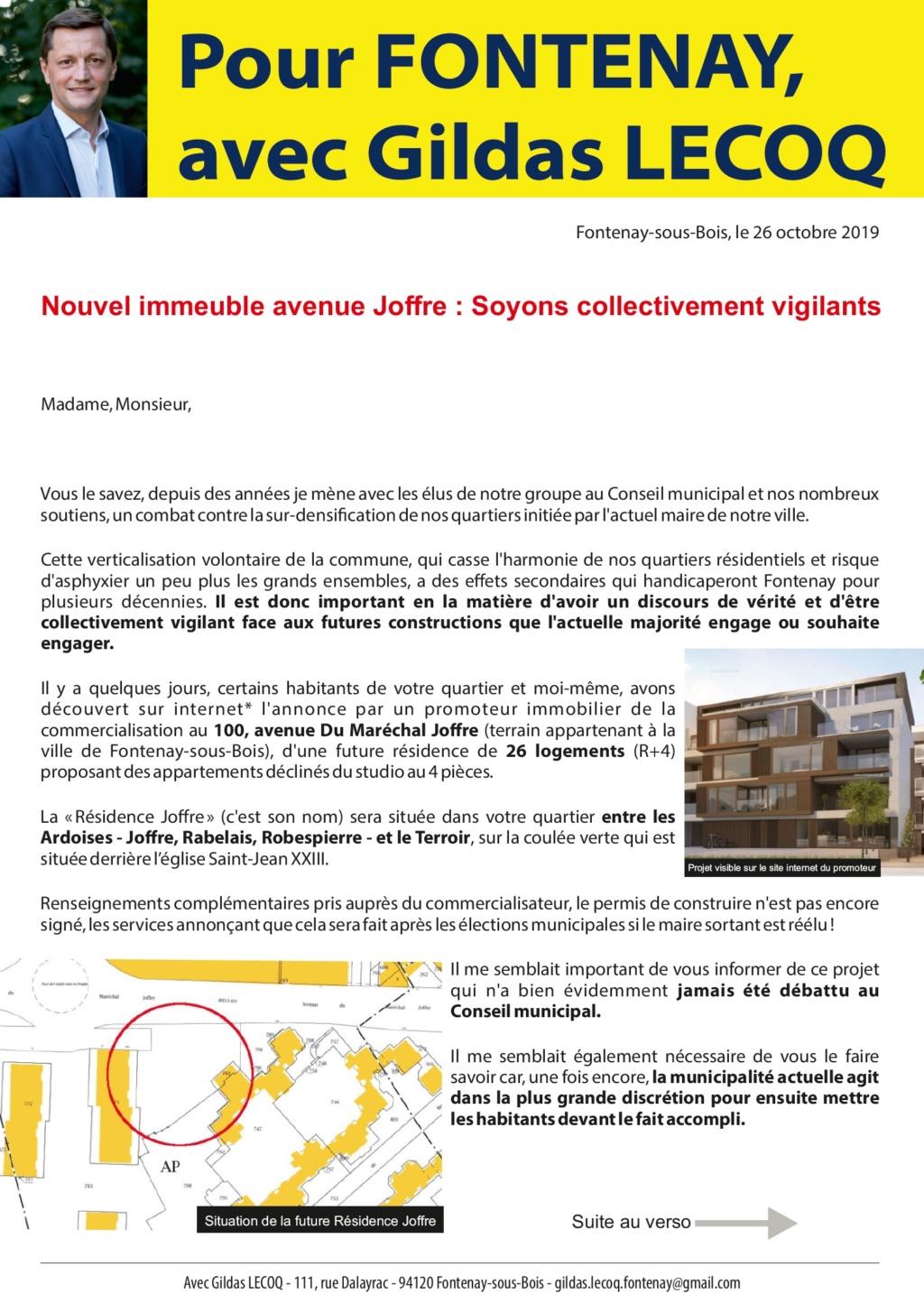 Les Ardoises - Le Terroir : Une nouvelle Résidence en construction ? Joffre10